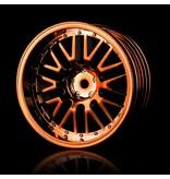 MST 10 Spokes 2 Ribs Wheel (4pcs) / Color: Copper