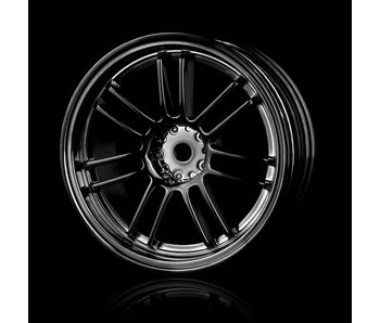 MST RE30 Wheel (4) / Silver Black