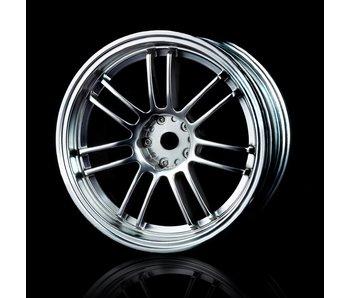 MST RE30 Wheel (4) / Flat Silver