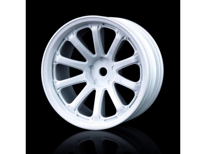 MST 77SV Wheel (4pcs) / Color: White