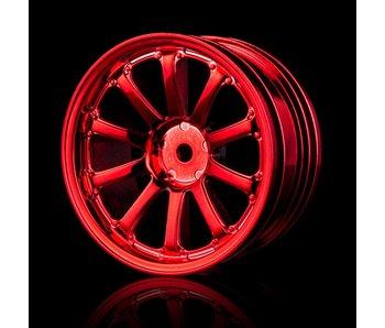 MST 77SV Wheel (4) / Red
