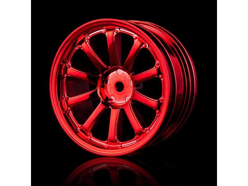 MST 77SV Wheel (4pcs) / Color: Red