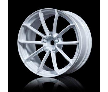 MST GTR Wheel (4) / White