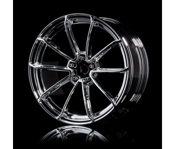 MST GTR Wheel (4) / Silver
