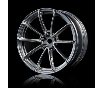 MST GTR Wheel (4) / Flat Silver