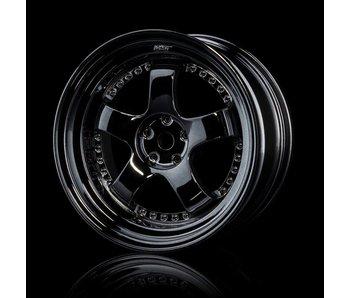 MST SP1 Wheel (4) / Silver Black