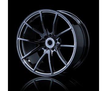MST G25 Wheel (4) / Silver Black