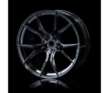 MST FX Wheel (4) / Silver Black