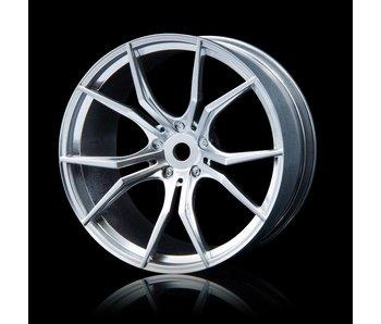 MST FX Wheel (4) / Flat Silver