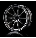 MST 5H Wheel (4pcs) / Color: Silver (Chrome)