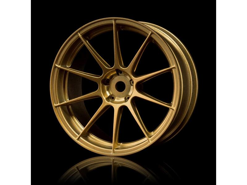 MST 5H Wheel (4pcs) / Color: Gold