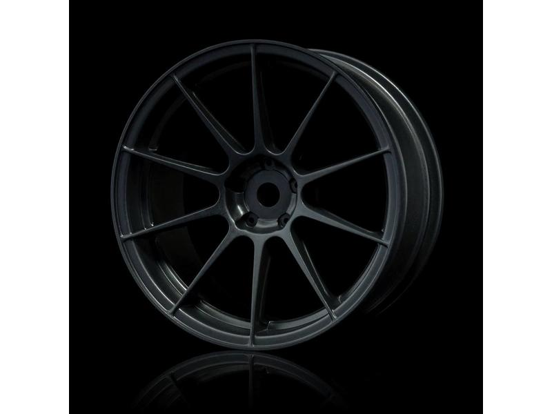 MST 5H Wheel (4pcs) / Color: Flat Black