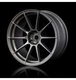 MST 5H Wheel (4pcs) / Color: Silver Grey