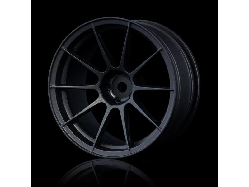 MST 5H Wheel (4pcs) / Color: Black