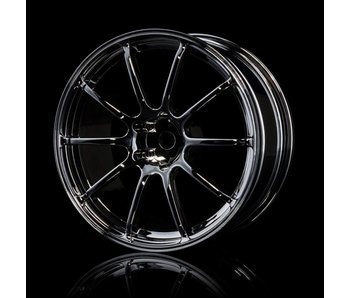 MST RS II Wheel (4) / Silver Black