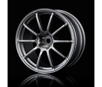 MST RS II Wheel (4) / Paint Silver