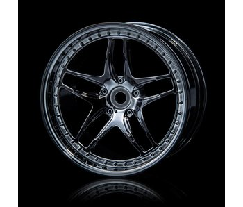 MST FB Wheel (4) / Silver Black