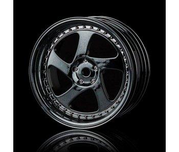 MST TMB Wheel (4) / Silver Black