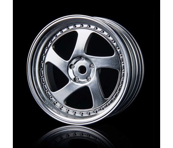 MST TMB Wheel (4) / Flat Silver