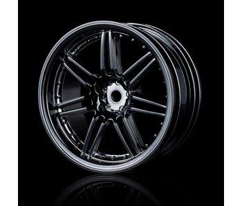 MST X603 Wheel (4) / Silver Black