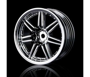 MST X603 Wheel (4) / Silver