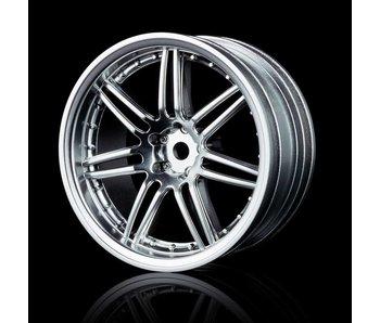 MST X603 Wheel (4) / Flat Silver