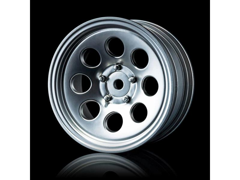 MST 58H Wheel (4pcs) / Color: Flat Silver