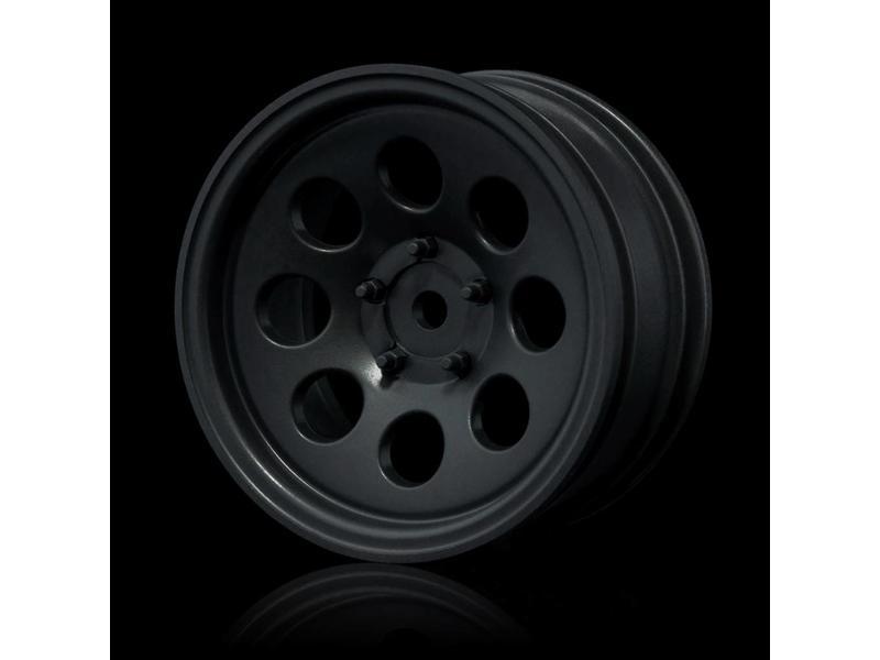 MST 58H Wheel (4pcs) / Color: Flat Black