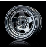 MST 236 Wheel (4pcs) / Color: Flat Silver