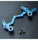 MST Aluminium Steering Arm Set / Color: Blue