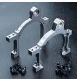 MST Aluminium Main Shaft Mount Right & Left / Color: Silver