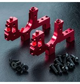 MST Aluminium Bulkhead Right & Left / Color: Red