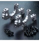 MST Aluminium Bulkhead Right & Left / Color: Silver
