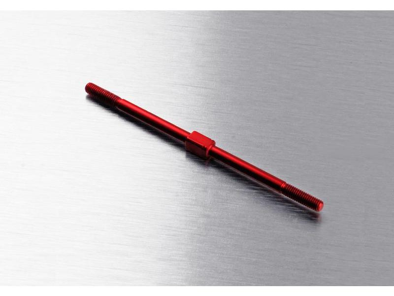 MST Aluminium Turnbuckle φ3mm x 68mm / Color: Red