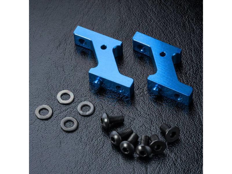 MST Aluminium Vertical Low Profile Servo Mount / Color: Blue