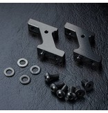 MST Aluminium Vertical Low Profile Servo Mount / Color: Black