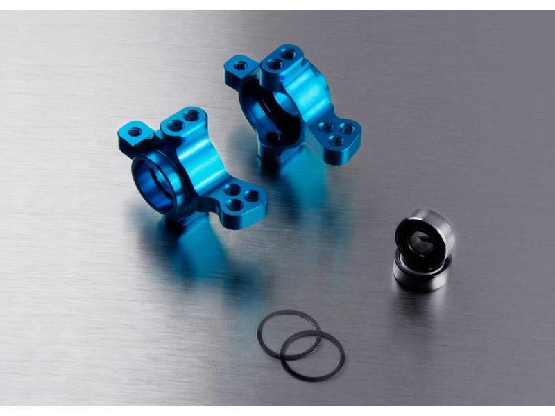 MST Aluminium Front Upright (2pcs) / Color: Blue
