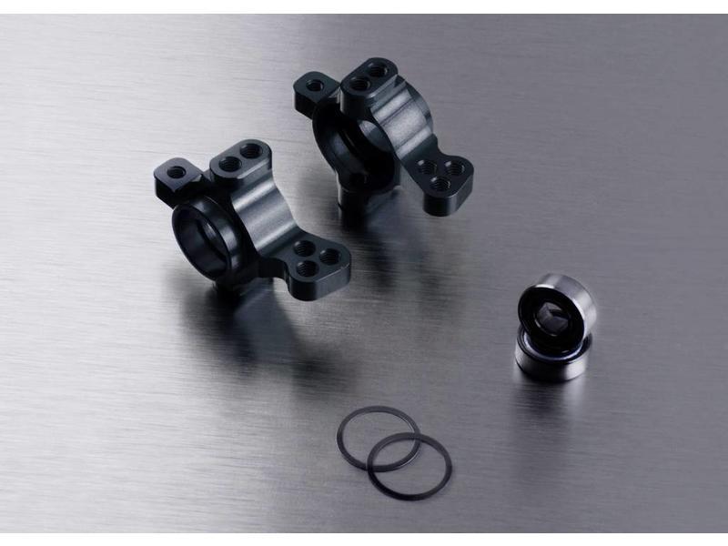 MST Aluminium Front Upright (2pcs) / Color: Black