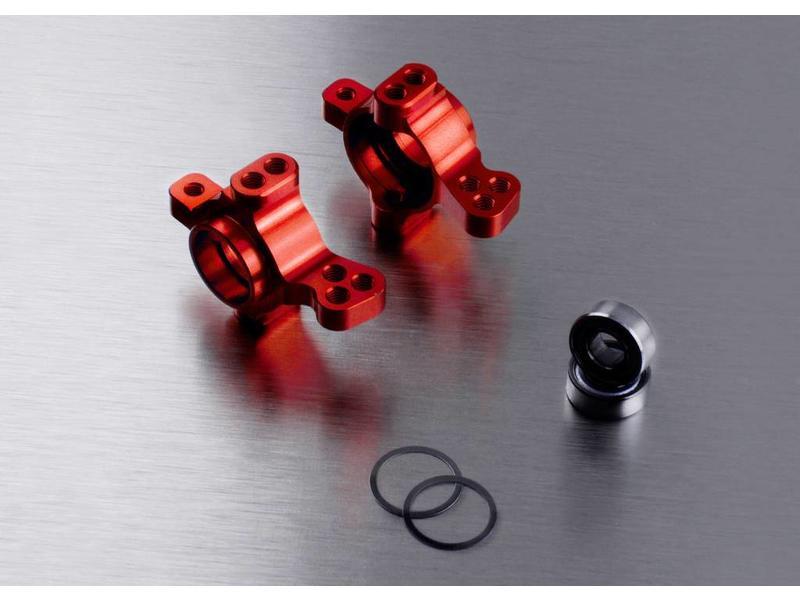 MST Aluminium Front Upright (2pcs) / Color: Red