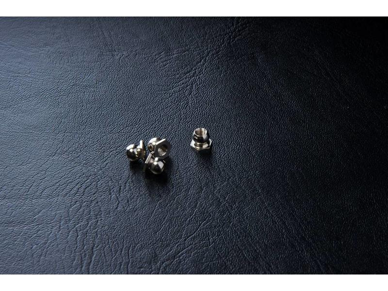 MST Ball Connector Nut φ4.8mm - Small (4pcs)