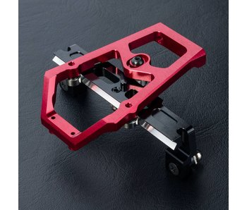 MST XXX Alum. Slide Rack Steering Set / Red