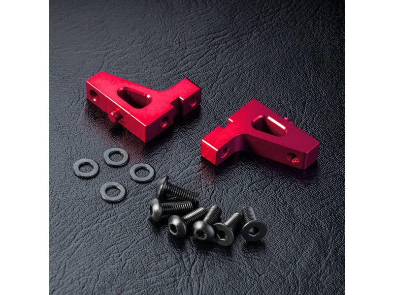 MST Aluminium Servo Mount / Color: Red