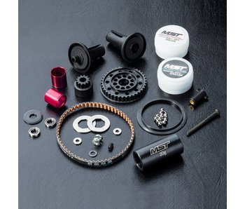 MST RMX-D 2WD Kit / Red - DISCONTINUED