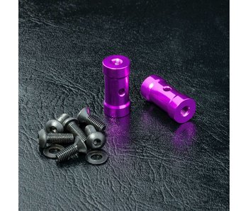 MST RMX Short Battery Holder Set / Purple