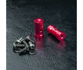 MST RMX Short Battery Holder Set / Red