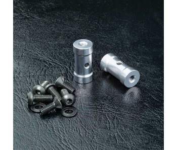 MST RMX Short Battery Holder Set / Silver