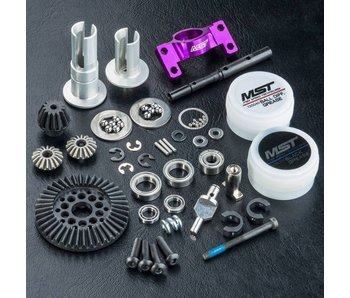 MST RMX 2WD Shaft Conversion Kit / Purple