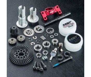 MST RMX 2WD Shaft Conversion Kit / Red