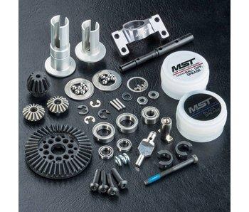 MST RMX 2WD Shaft Conversion Kit / Silver