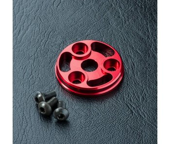 MST RMX Alum. Spur Gear Cover / Red